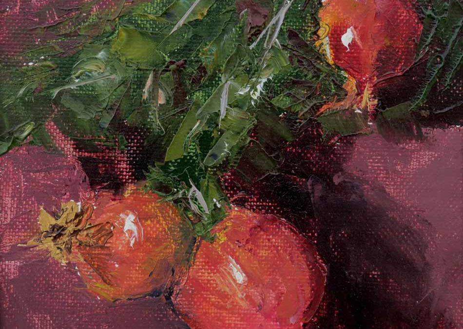 Pomegranate Trio