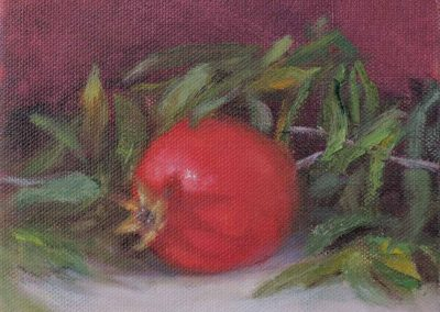 Pomegranate with Twig