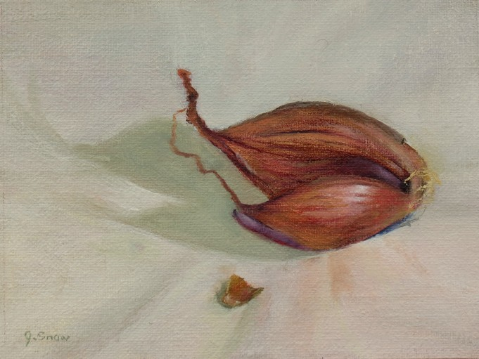 Oil painting by Jean Snow